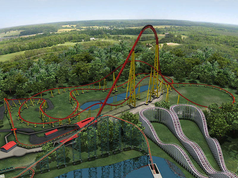 Intimidator 305: 2010 Kings Dominion - Coaster101