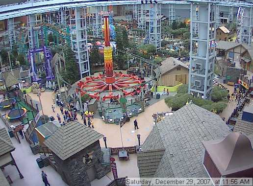 Nickelodeon Universe Construction Coaster101