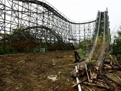 Libertyland Demolition Begins - Coaster101