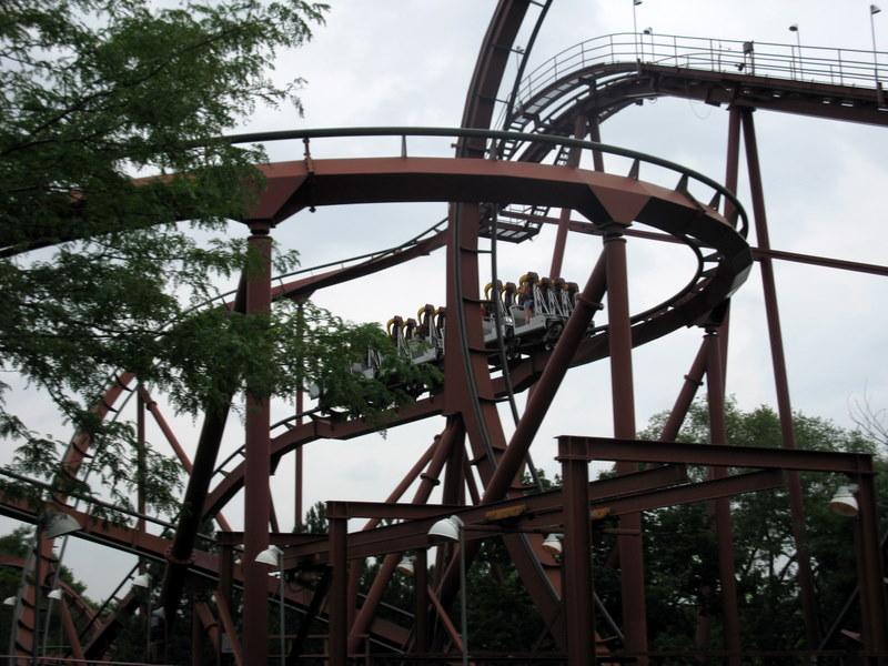 Six Flags America to Close Apocalypse Stand-Up Coaster - Coaster101