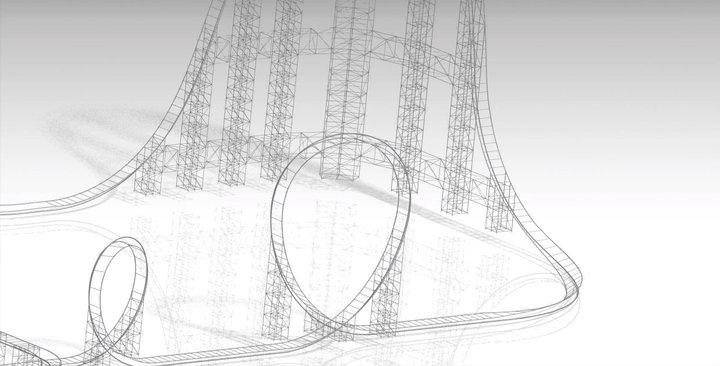 Catia Coaster Model - Coaster101