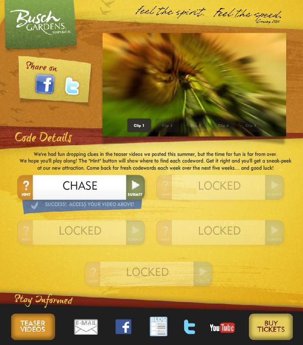 Code Word Site