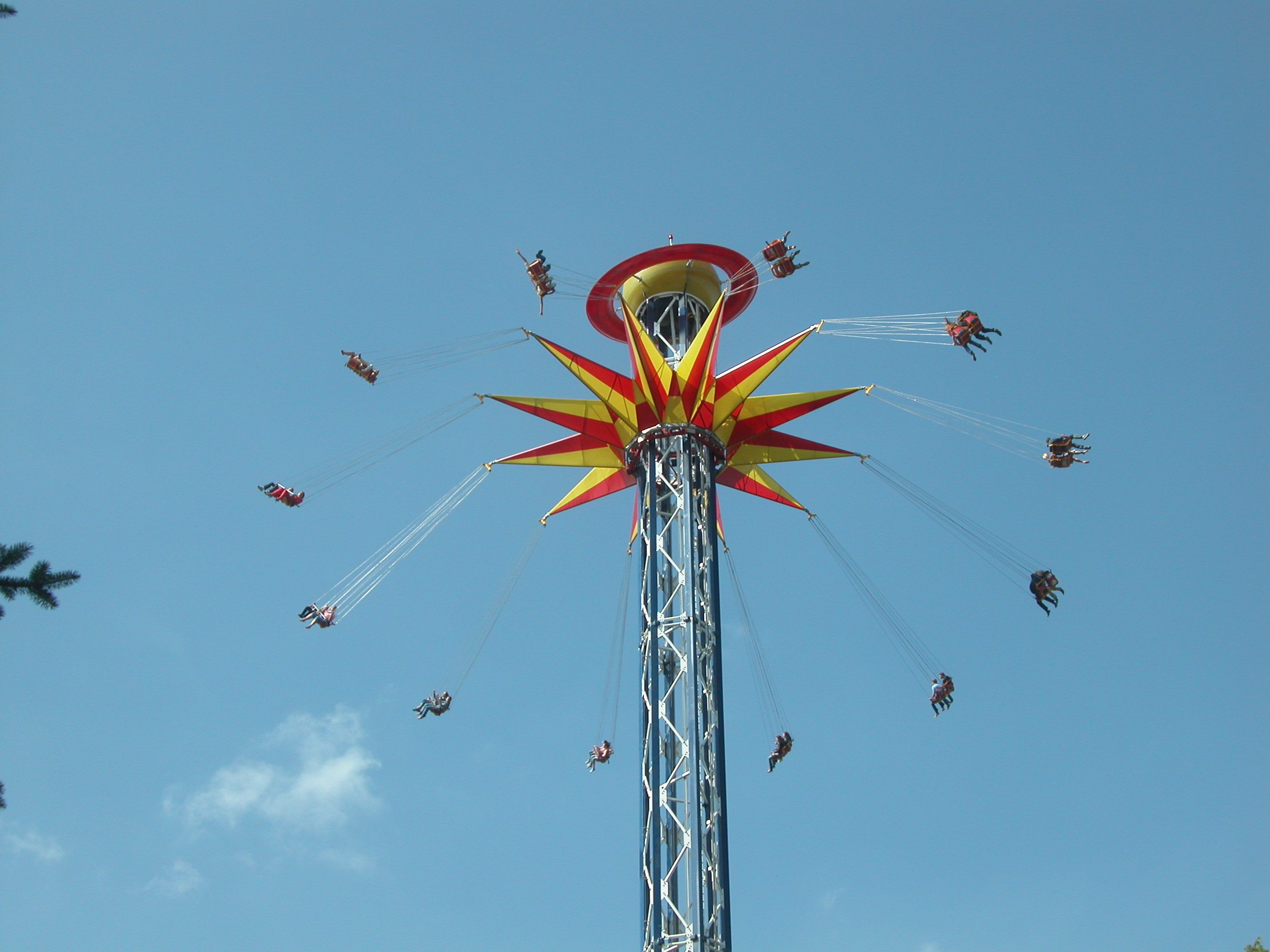 Sky Screamer For Six Flags Discovery Kingdom In 2011