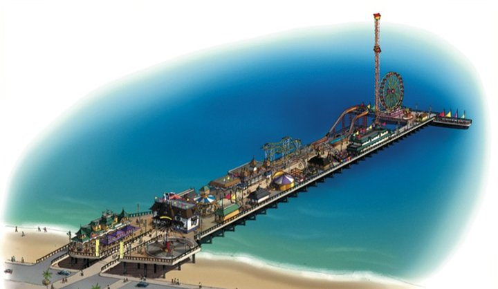 galvestonpier1 Pleasure Pier for Galveston coming soon