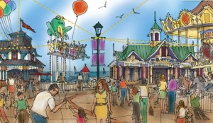 galvestonpier4 300x174 Pleasure Pier for Galveston coming soon
