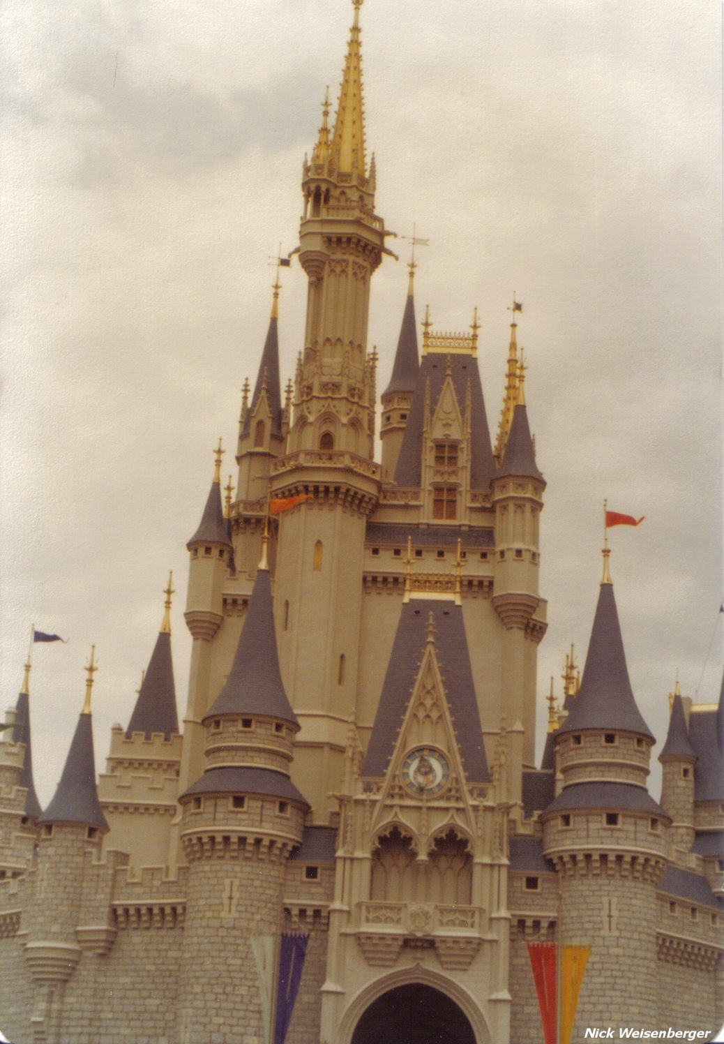 Classic shot of the castle