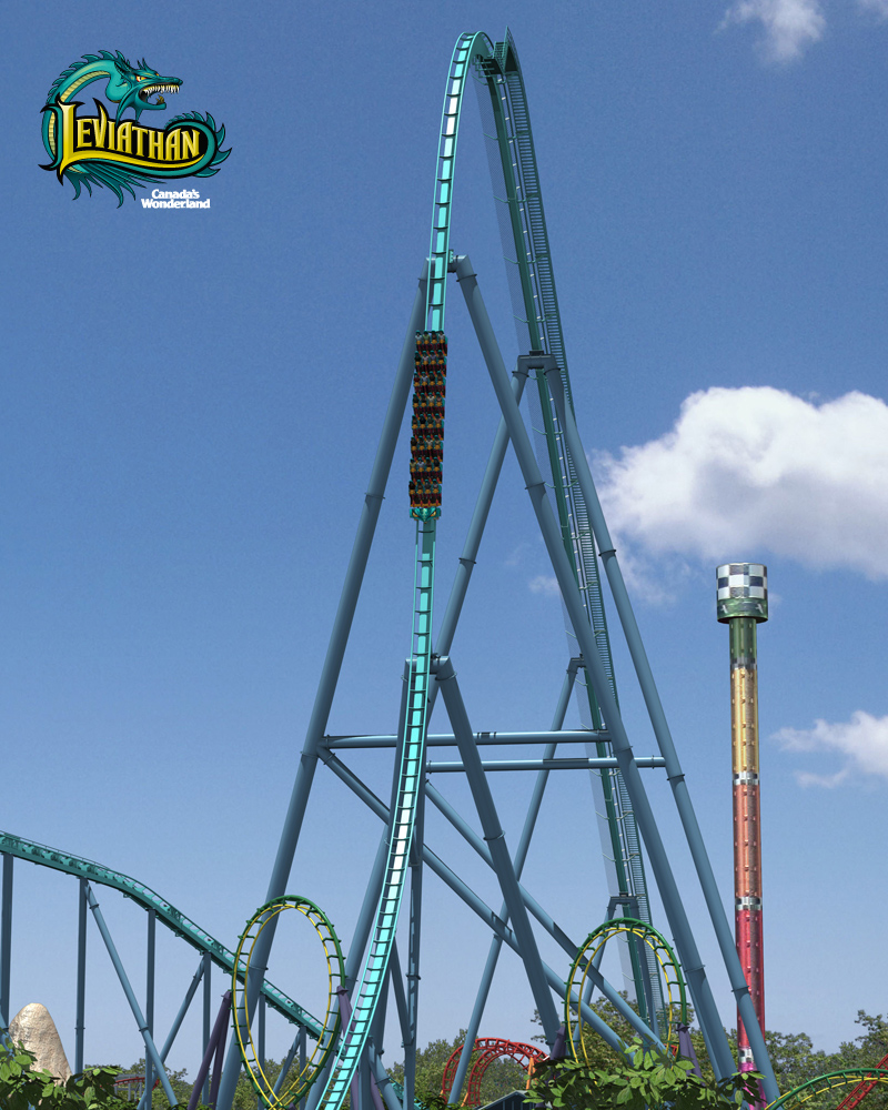 Canada's Wonderland announces Leviathan for 2012 - Coaster101