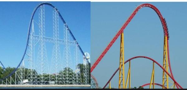 intamin roller coaster design