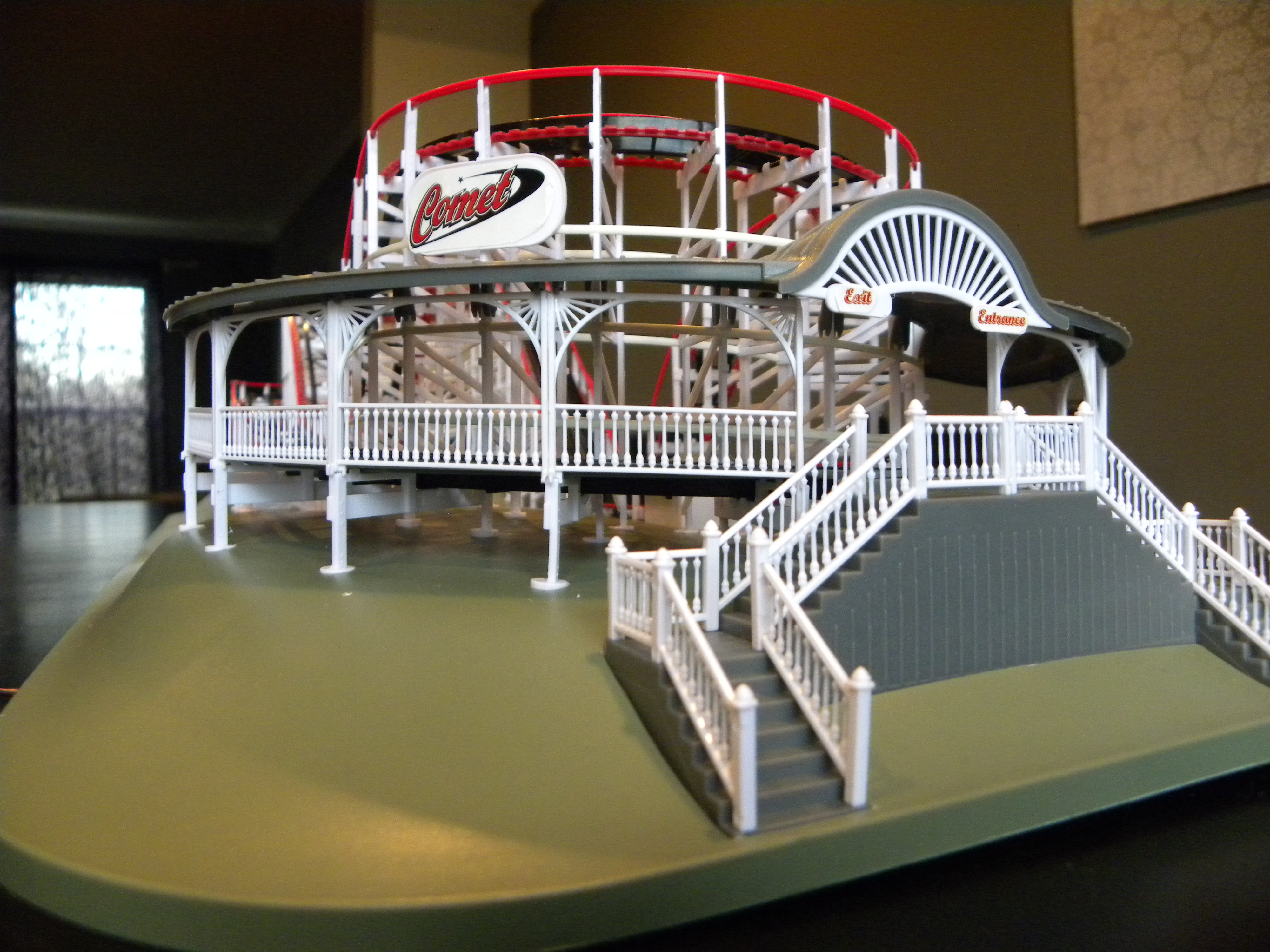 coasterdynamix comet wooden coaster model