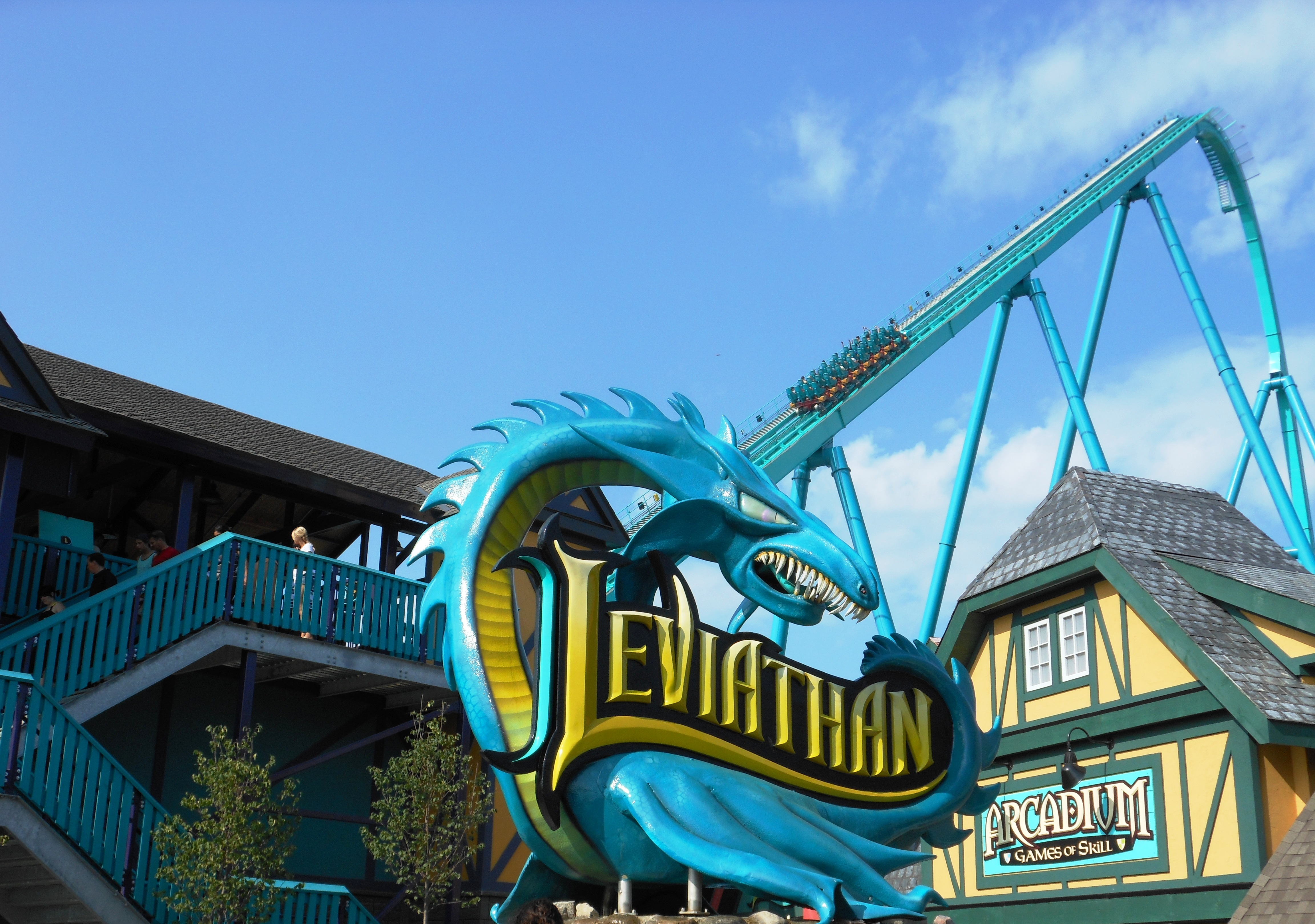 A-Z Coaster of the Week: Leviathan - Coaster101