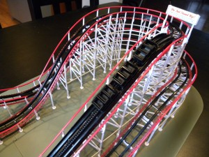 oller coaster model kits