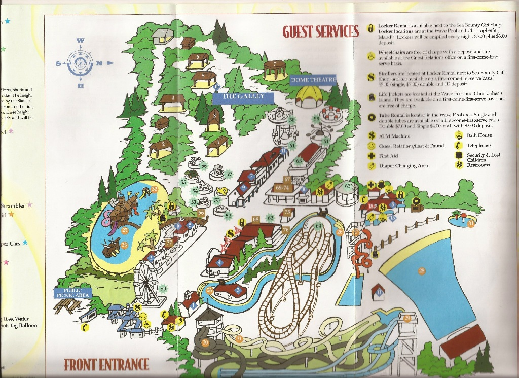wyandot lake park map