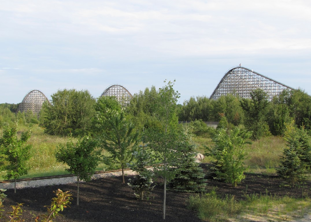A Z Coaster Of The Week Shivering Timbers Coaster101