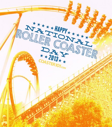 nrcd13 444x500 Happy National Roller Coaster Day 2013