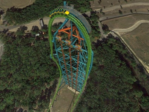 zumanjaro1 500x376 Great Adventure Opening Tallest Drop Ride in 2014