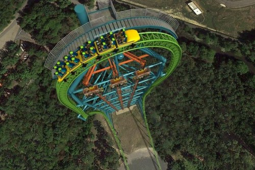 zumanjaro2 500x334 Great Adventure Opening Tallest Drop Ride in 2014