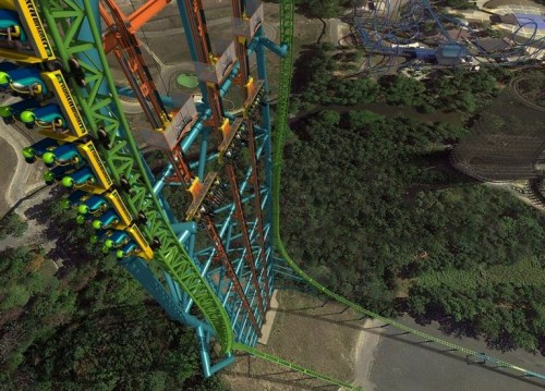 zumanjaro31 500x359 Great Adventure Opening Tallest Drop Ride in 2014