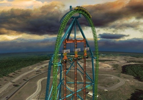 zumanjaro4 500x349 Great Adventure Opening Tallest Drop Ride in 2014