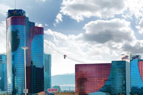 Soar Above Vegas On The Voodoo Zip Line Coaster101
