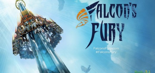 Falcon's Fury Busch Gardens Tampa - Key Visual with Logo (Medium)