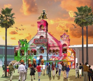 Antojitos at CityWalk - Rendering