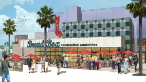 BreadBox at CityWalk - Rendering