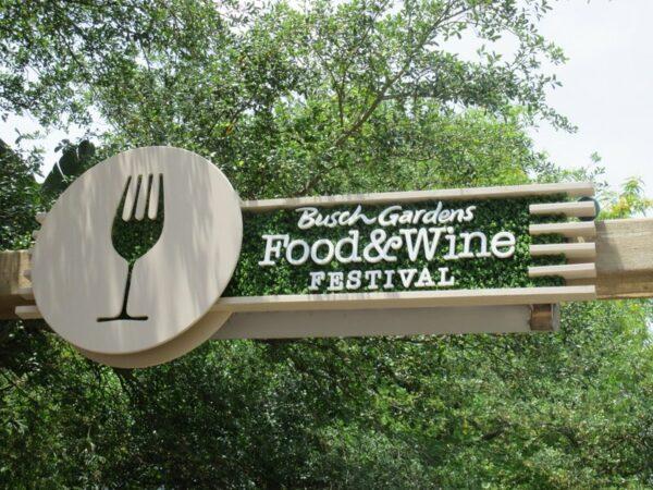 Busch Gardens Tampa Food Wine Festival Update Coaster101