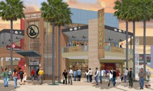 The CowFish at CityWalk - Rendering