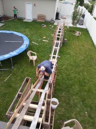 They Built a Backyard Coaster for Under $50 - Coaster101
