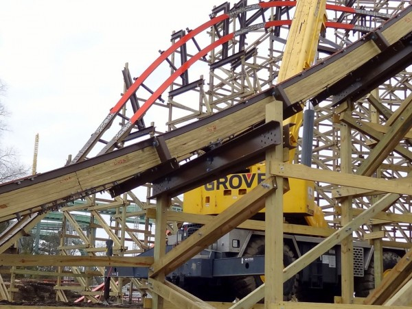 030 600x451 Goliath Construction at Six Flags Great America