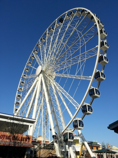 great smoky moutain ferris wheel