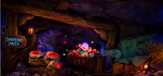 seven dwarfs mine train pov video
