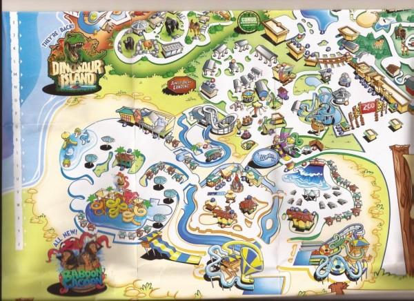 zoombezi bay map 2014