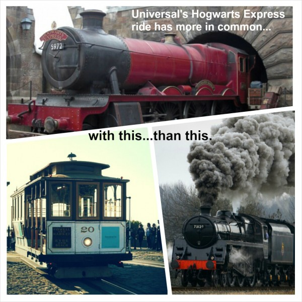 hogwarts train comparison