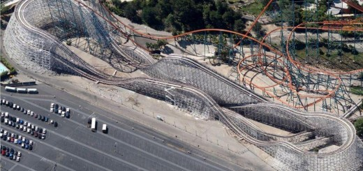 six flags magic mountain colossus closure
