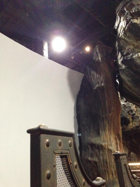 gringotts projection screen