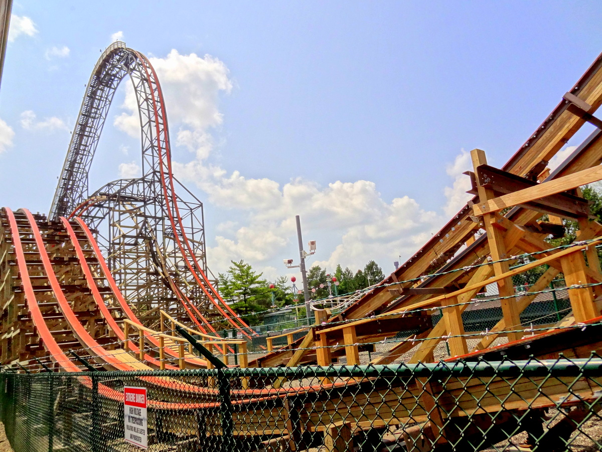 six flags great america summer 2014 update coaster101