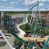 4. Fury 325 Coming out of Underground Dive