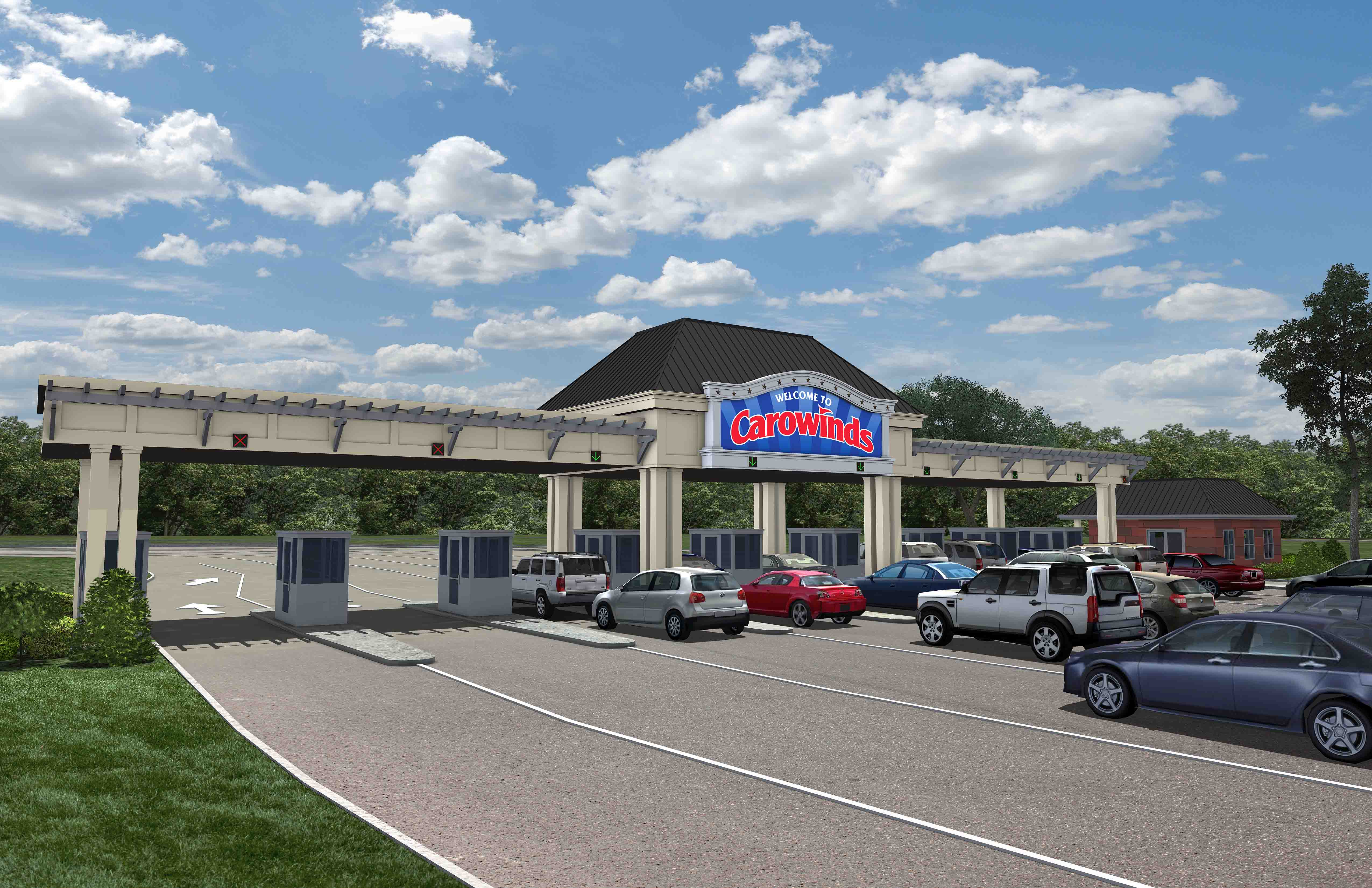 Carowinds To Upgrade Entrance Plaza For 2015 Coaster101