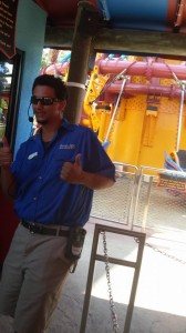 Mark, the awesome ride op