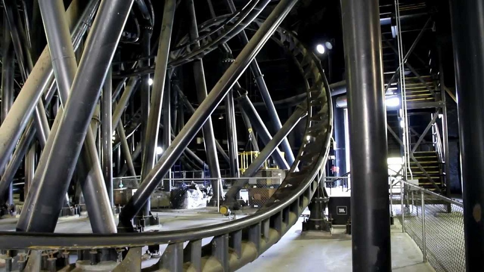 Flight of fear with the lights on coaster101 for Linear induction motor roller coaster
