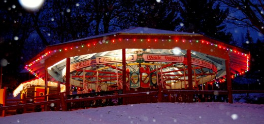 Images of Santa's Workshop in North Pole, Wilimington, NY.