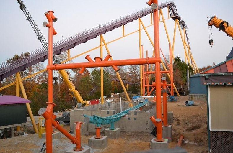 Tempesto Rising At Busch Gardens Williamsburg Coaster101