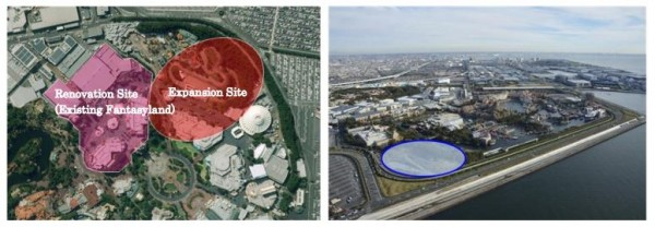 Major expansion coming for tokyo disneyland and disneysea coaster101 the above graphic highlights the locations affected by the renovations and expansions tokyo disneyland right tokyo disneysea left sciox Image collections