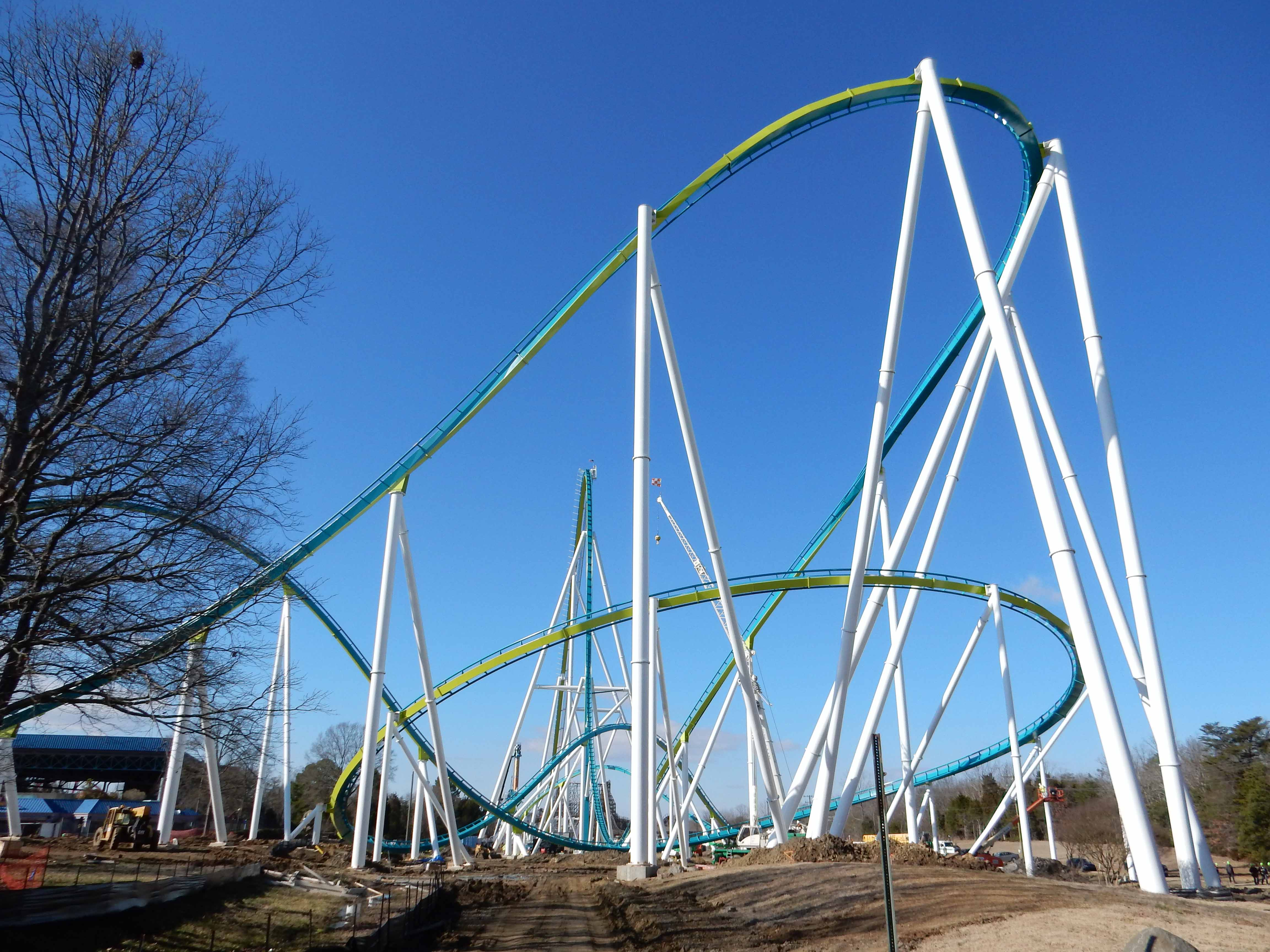 Diagramed Fury 325 Roller Coaster Related Keywords Suggestions Diagram Of Kingda Ka Construction Update 1 30 15 Coaster101