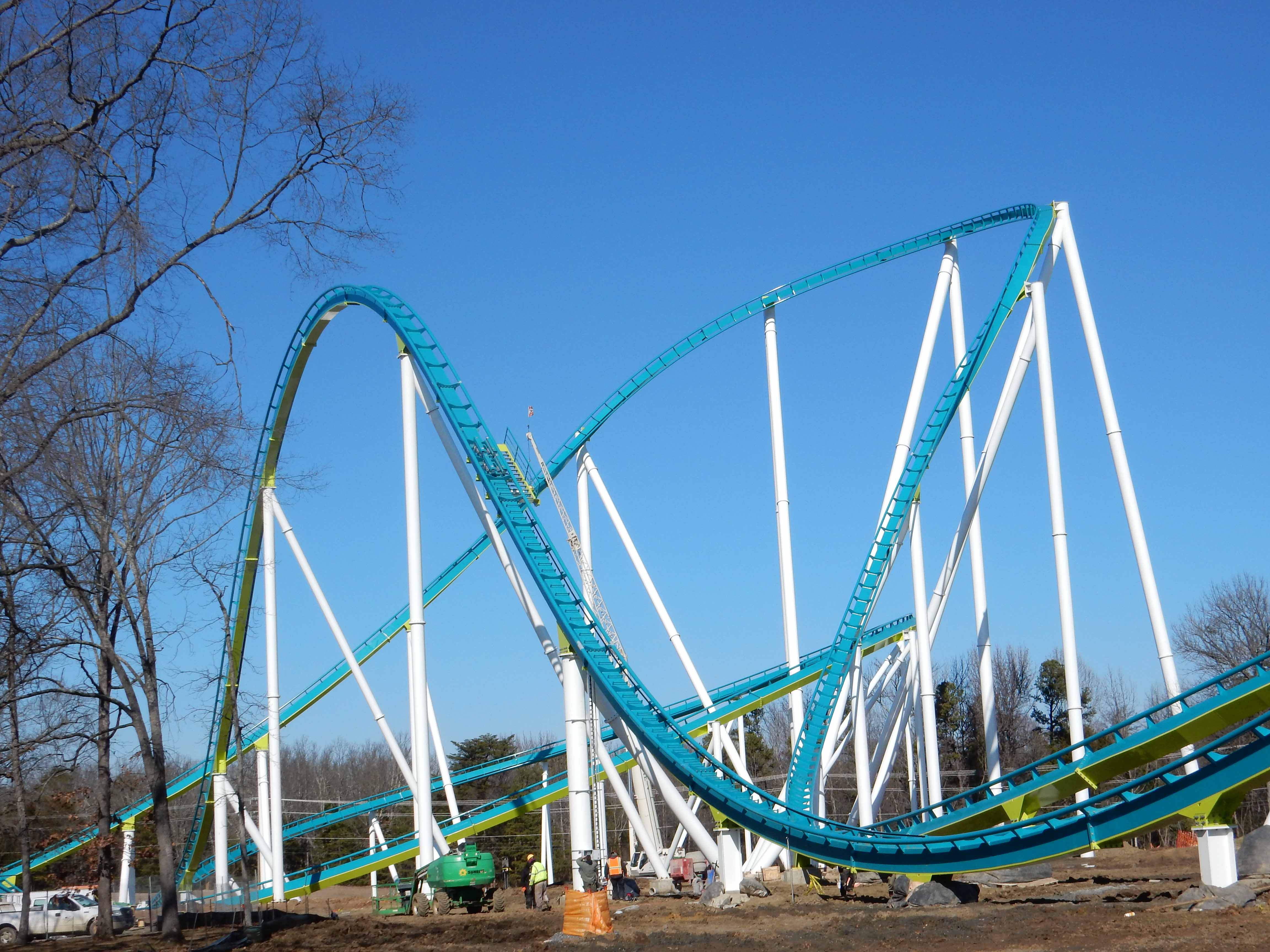 carowinds to auction first rides on fury 325 for charity coaster101