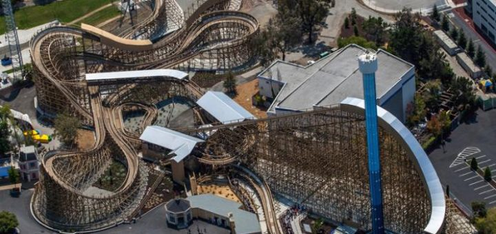 One of GCII's most recent, and one of my favorites, Gold Striker, filled with twists, turns, and lots of air!