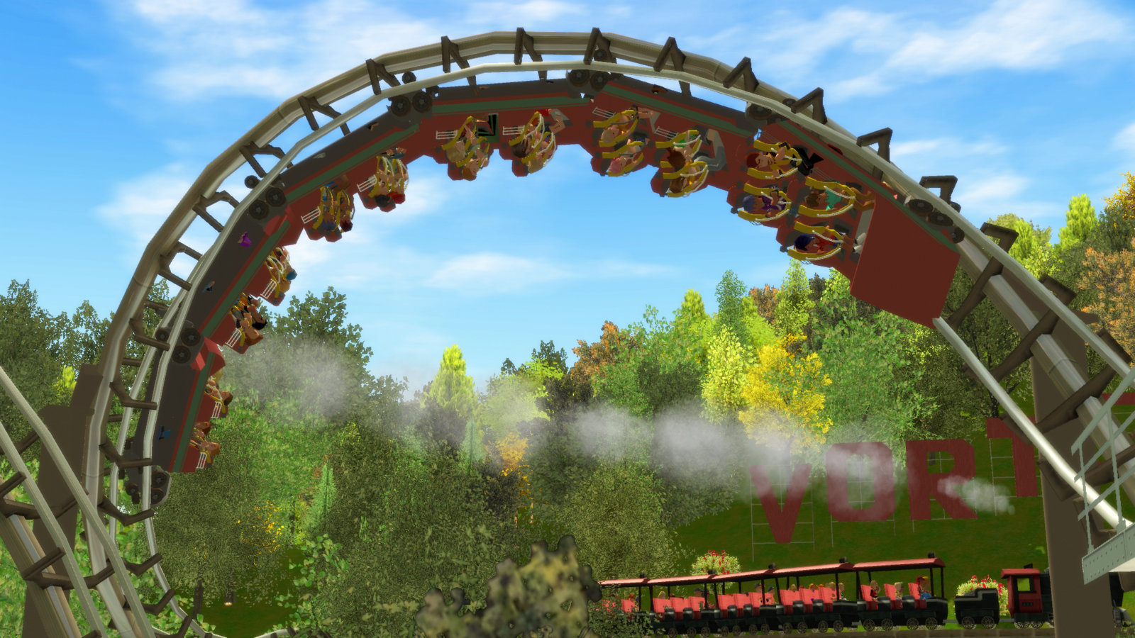 Virginia Vortex Arrow RCT3 Coaster - Coaster101