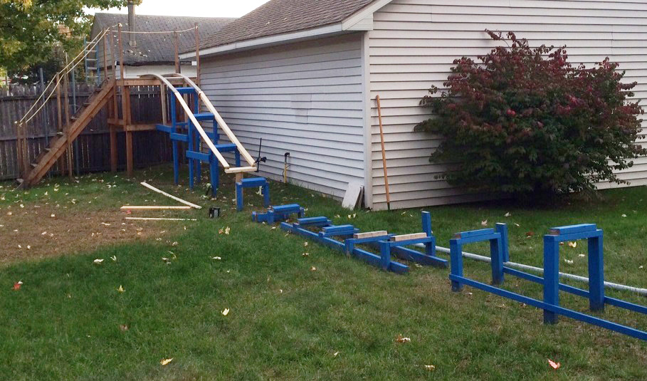 How To Make A Roller Coaster In Your Backyard - Backyard ...