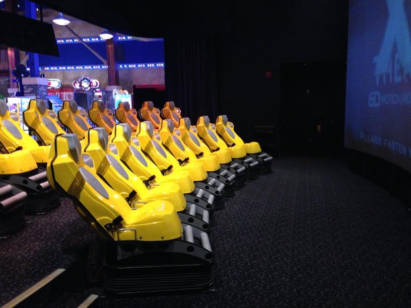 triotechs xd theater coaster101